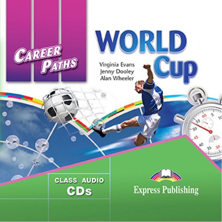 CAREER PATHS WORLD CUP CLASS CDs (set of 2)