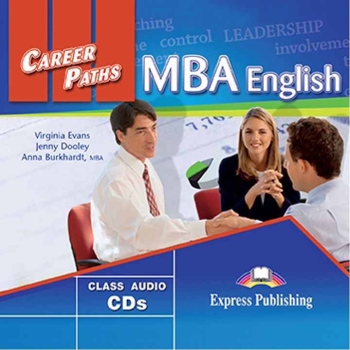CAREER PATHS MBA ENGLISH CLASS CDs (set of 2)