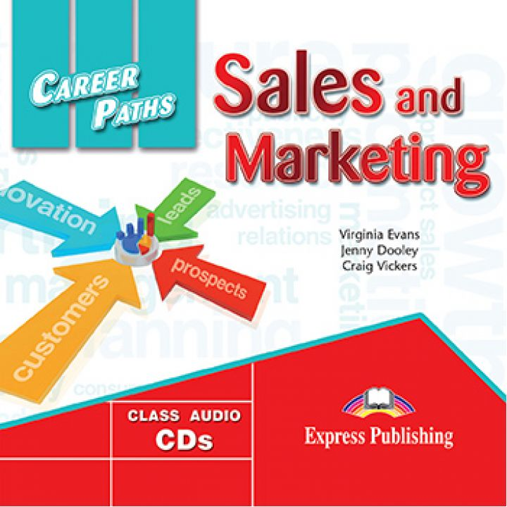 CAREER PATHS SALES AND MARKETING CLASS CDs (set of 2)