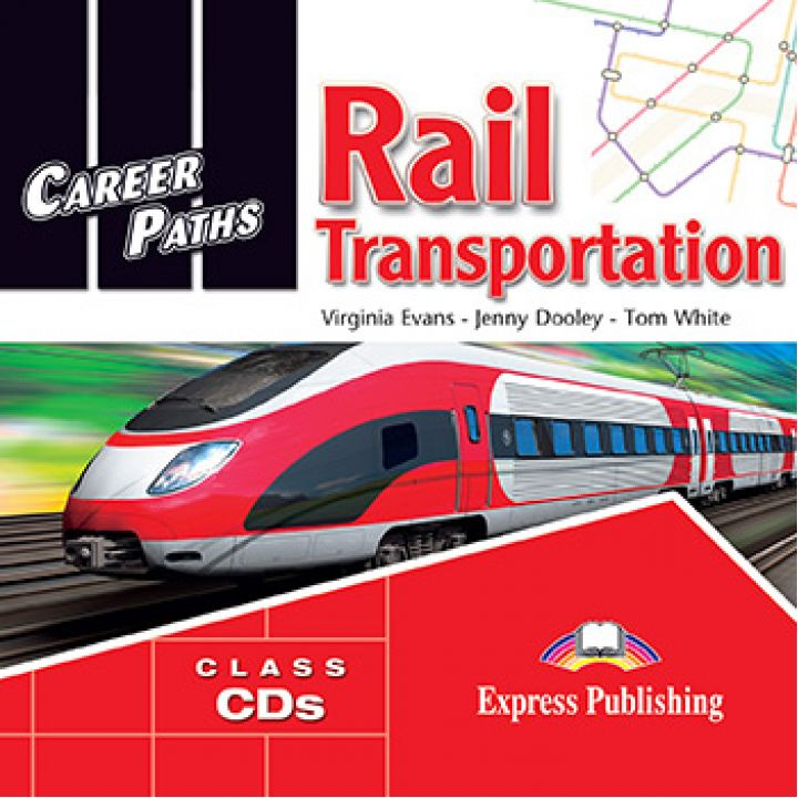 CAREER PATHS RAIL TRANSPORTATION CLASS CDs (set of 2)