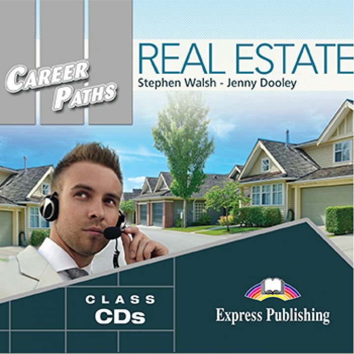 CAREER PATHS REAL ESTATE CLASS CDs (set of 2)