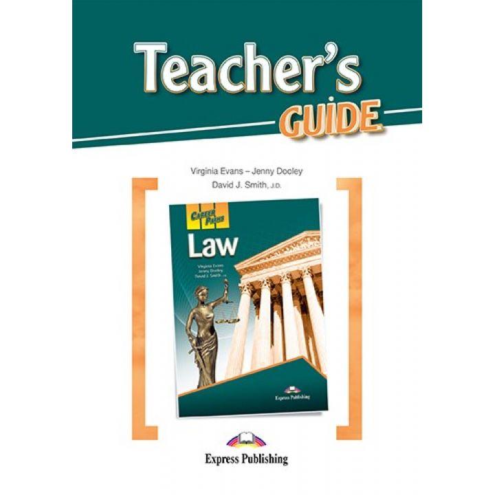 CAREER PATHS LAW TEACHER'S GUIDE