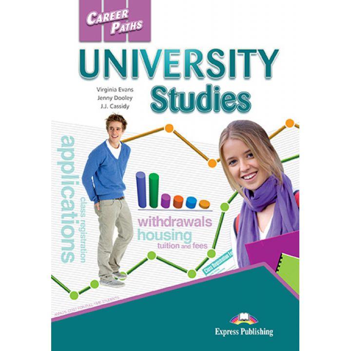 CAREER PATHS UNIVERSITY STUDIES STUDENT'S BOOK