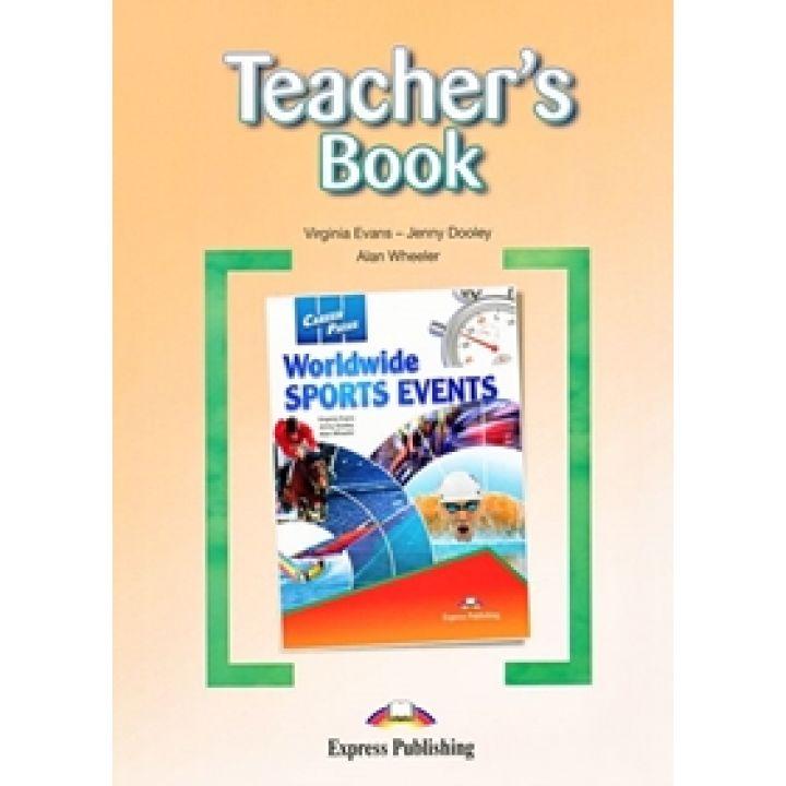 CAREER PATHS WORLDWIDE SPORTS EVENTS TEACHER'S BOOK
