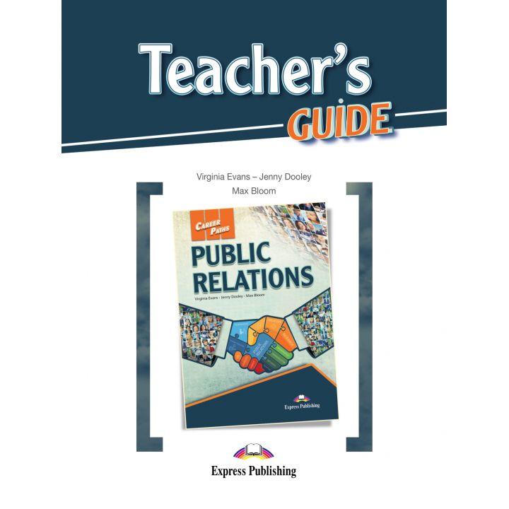 CAREER PATHS PUBLIC RELATIONS TEACHER'S GUIDE