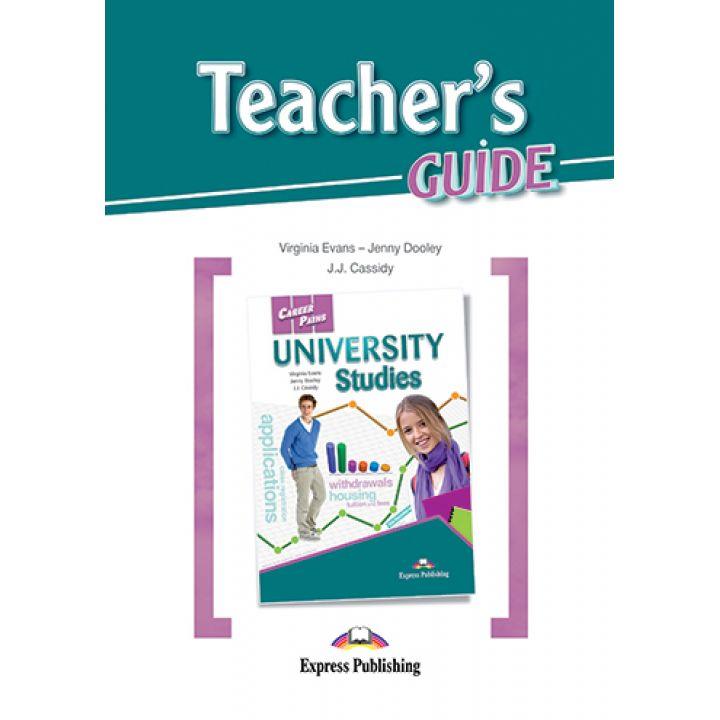 CAREER PATHS UNIVERSITY STUDIES TEACHER'S GUIDE