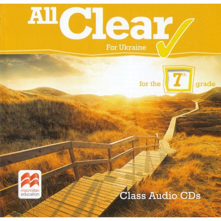 All Clear 3 Class Audio CD-R