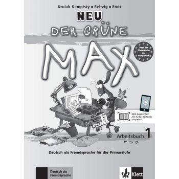 Der grüne Max 1 Neu, Arbeitsbuch+CD