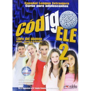 Codigo ELE 2 Libro del alumno + CD-ROM