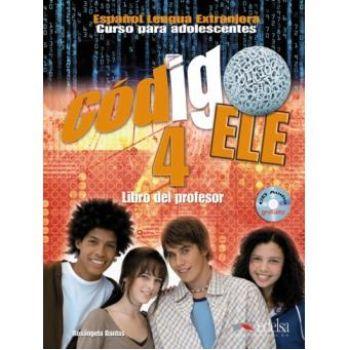 Codigo ELE 4 Libro del profesor+Audio CD