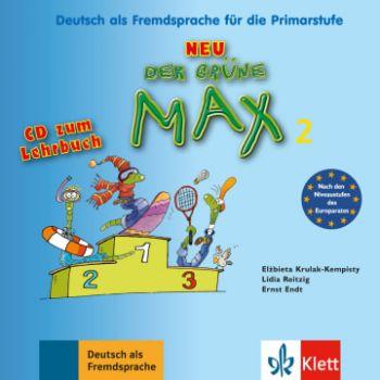 Der grüne Max 2 Neu, CD zum Lehrbuch