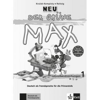 Der grüne Max 1 Neu,  Lehrerhandbuch