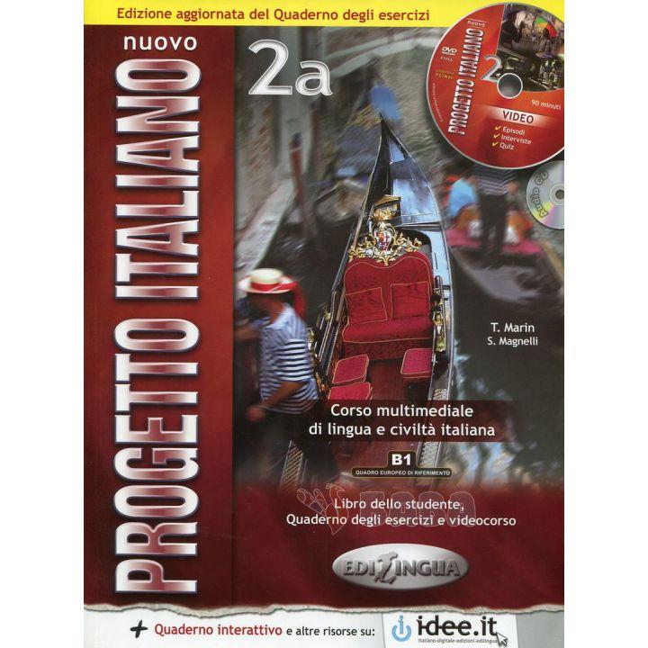 Progetto Italiano Nuovo 2A Libro&Quaderno COLORE + CD Audio + CD-ROM