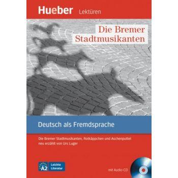 Die Bremer Stadtmusikanten Leseheft mit Audio-CD
