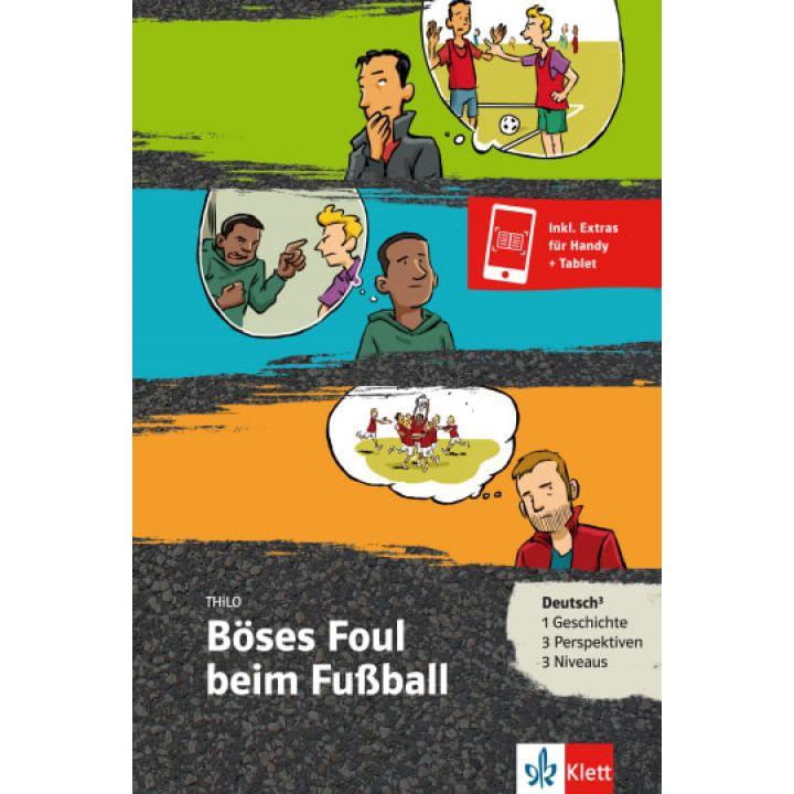 Böses Foul beim Fußball Buch + Online-Angebot