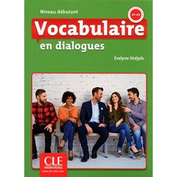 En dialogues Vocabulaire 2e Edition Debutant A1/A2 Livre + CD