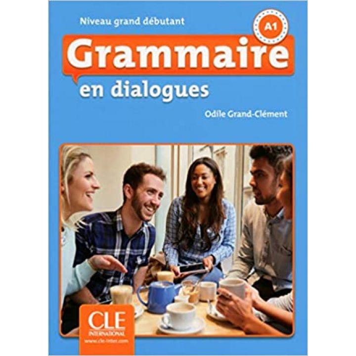 En dialogues Grammaire 2e Edition Grand Débutant Livre + CD