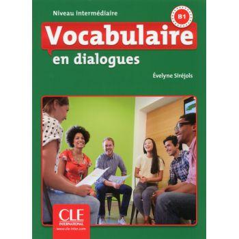En dialogues Vocabulaire 2e Edition Intermediaire B1 Livre + CD