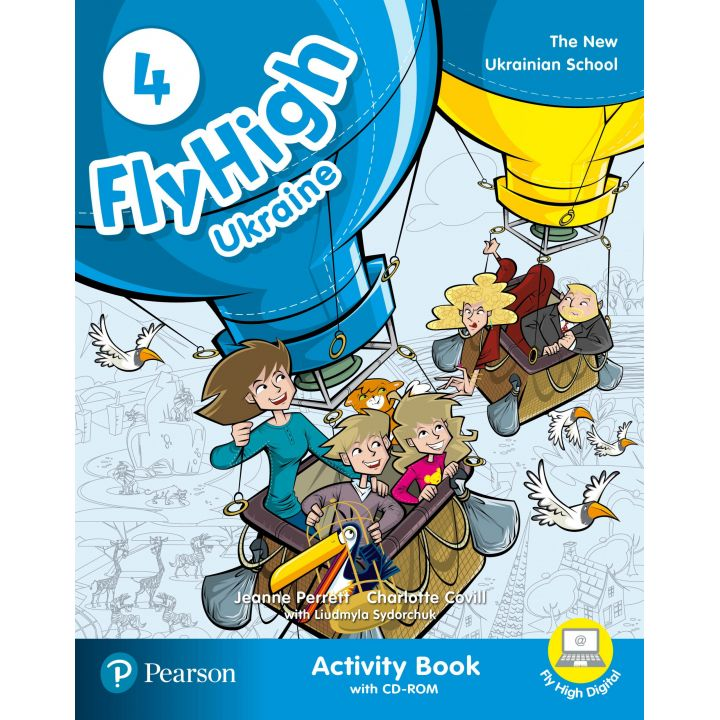 Fly High 4 ACTIVITY BOOK +CD UKRAINE