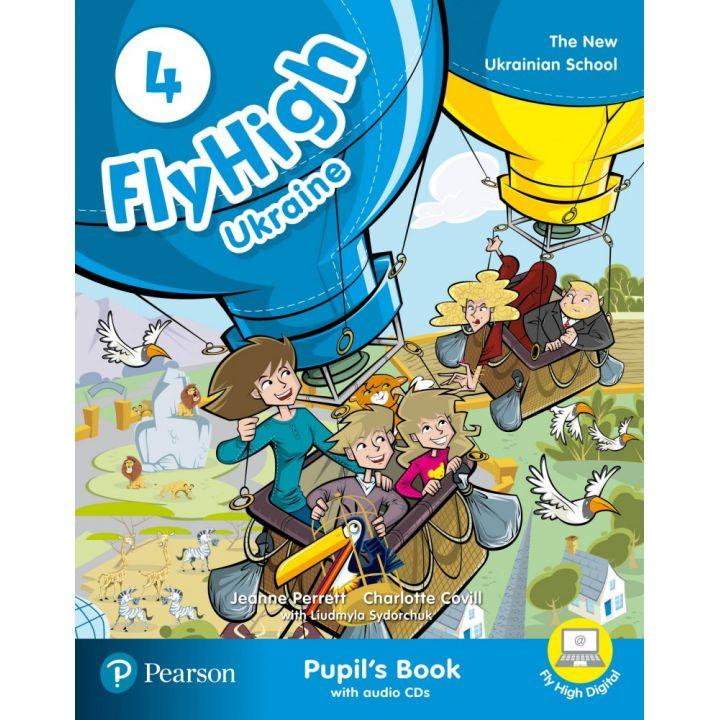 Fly High 4 STUDENTS BOOK + Audio CD UKRAINE