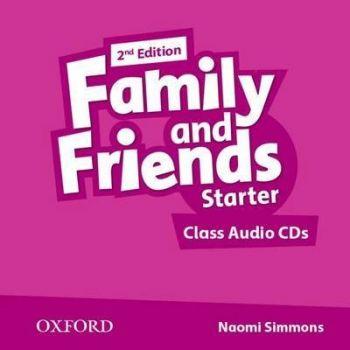 FAMILY & FRIENDS 2ED STARTER CLASS AUDIO CD
