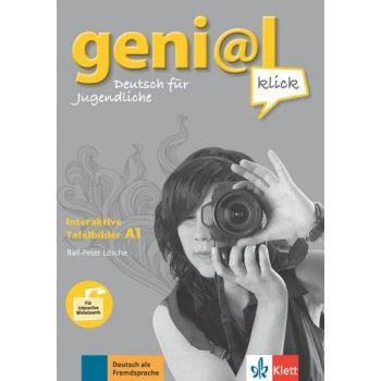 geni@l klick A1, Interaktive Tafelbilder auf CD-ROM
