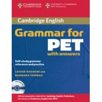 Cambridge Grammar for PET with answers and Audio CD