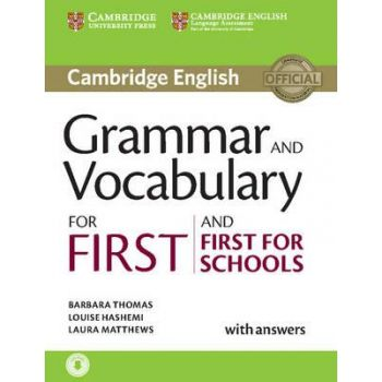 Cambridge Grammar and Vocabulary for First and First for Schools with answers and Downloadable Audio
