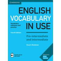 English Vocabulary in Use 4th Edition Pre-intermediate and Intermediate with answers and eBook