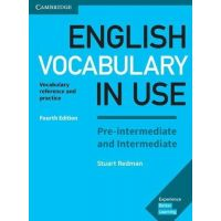 English Vocabulary in Use 4th Edition Pre-intermediate and Intermediate with answers