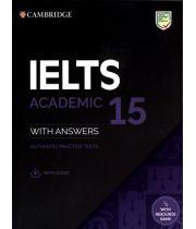 Cambridge IELTS 15 Academic - Authentic Practice Tests with Resources Download