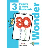 i-WONDER 3 PICTURE & WORD FLASHCARDS