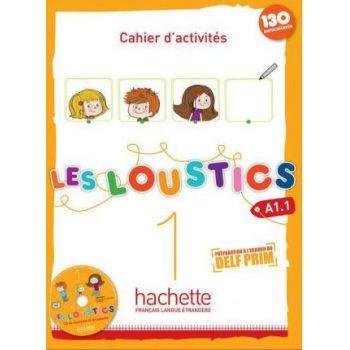 Les Loustics 1: Cahier d'activités + CD audio