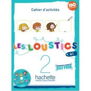 Les Loustics 2: Cahier d'activités + CD audio