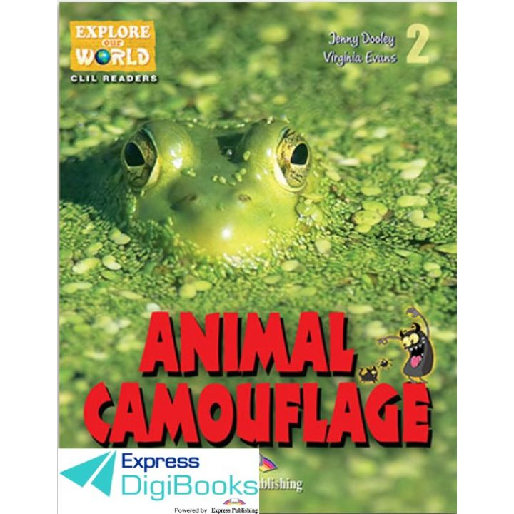 ANIMAL CAMOUFLAGE (EXPLORE OUR WORLD) DIGIBOOKS APPLICATION
