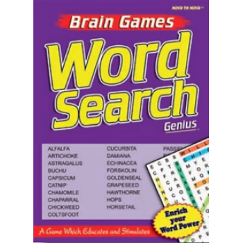 Brain Games Word Search 1-GENIUS