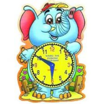 Let's Learn Time Jumbo, The Dancing Elephant