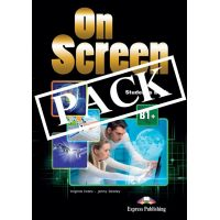 ON SCREEN B1+ STUDENT'S PACK WITH DIGIBOOK APP AND WRITING BOOK