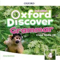 Oxford Discover Second Edition 4 Grammar Class Audio CDs