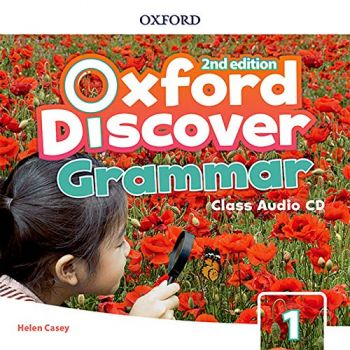 Oxford Discover Second Edition 1 Grammar Class Audio CDs