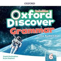 Oxford Discover Second Edition 6 Grammar Class Audio CDs