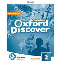 Oxford Discover Second Edition 2 Workbook with Online Practice