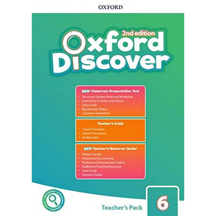 Oxford Discover Second Edition 6 Teacher's Pack