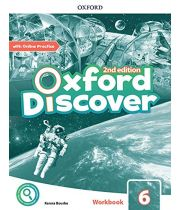 Oxford Discover Second Edition 6 Workbook with Online Practice