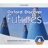 Oxford Discover Futures 4 Class Audio CDs