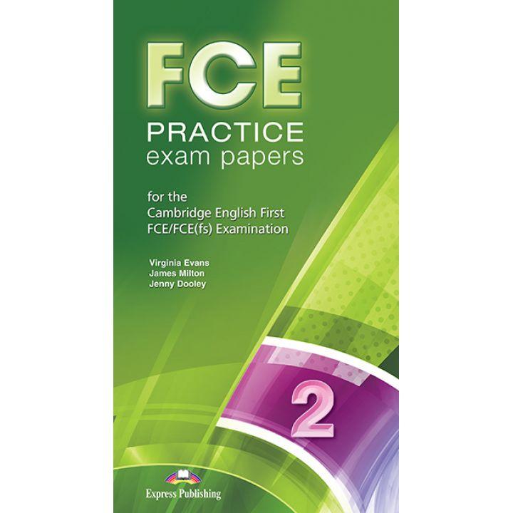 FCE PRACTICE EXAM PAPERS 2 Class CD MP3