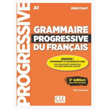 GRAMMAIRE PROGRESSIVE DU FRANCAIS 3E EDITION DEBUTANT LIVRE + CD + LIVRE-WEB