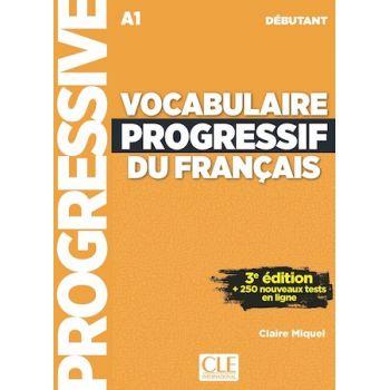 Vocabulaire Progressive du Francais 4e Edition Debutant Livre + CD + Livre-web-interactif