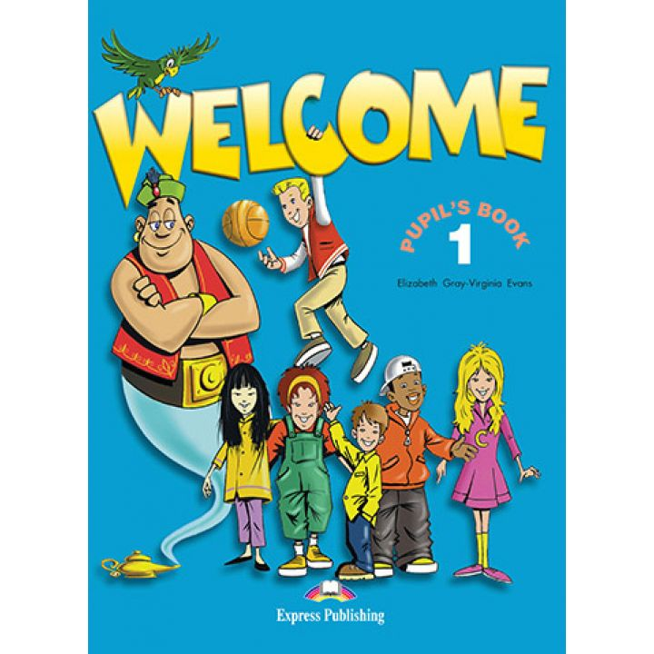 WELCOME 1 STUDENTS BOOK WITH ALPHABET BOOK