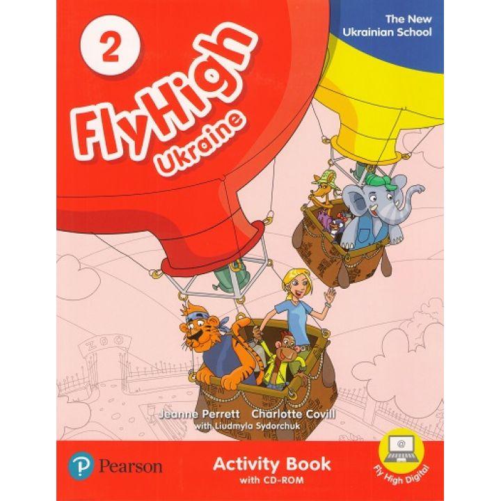 Fly High 2 ACTIVITY BOOK +CD UKRAINE